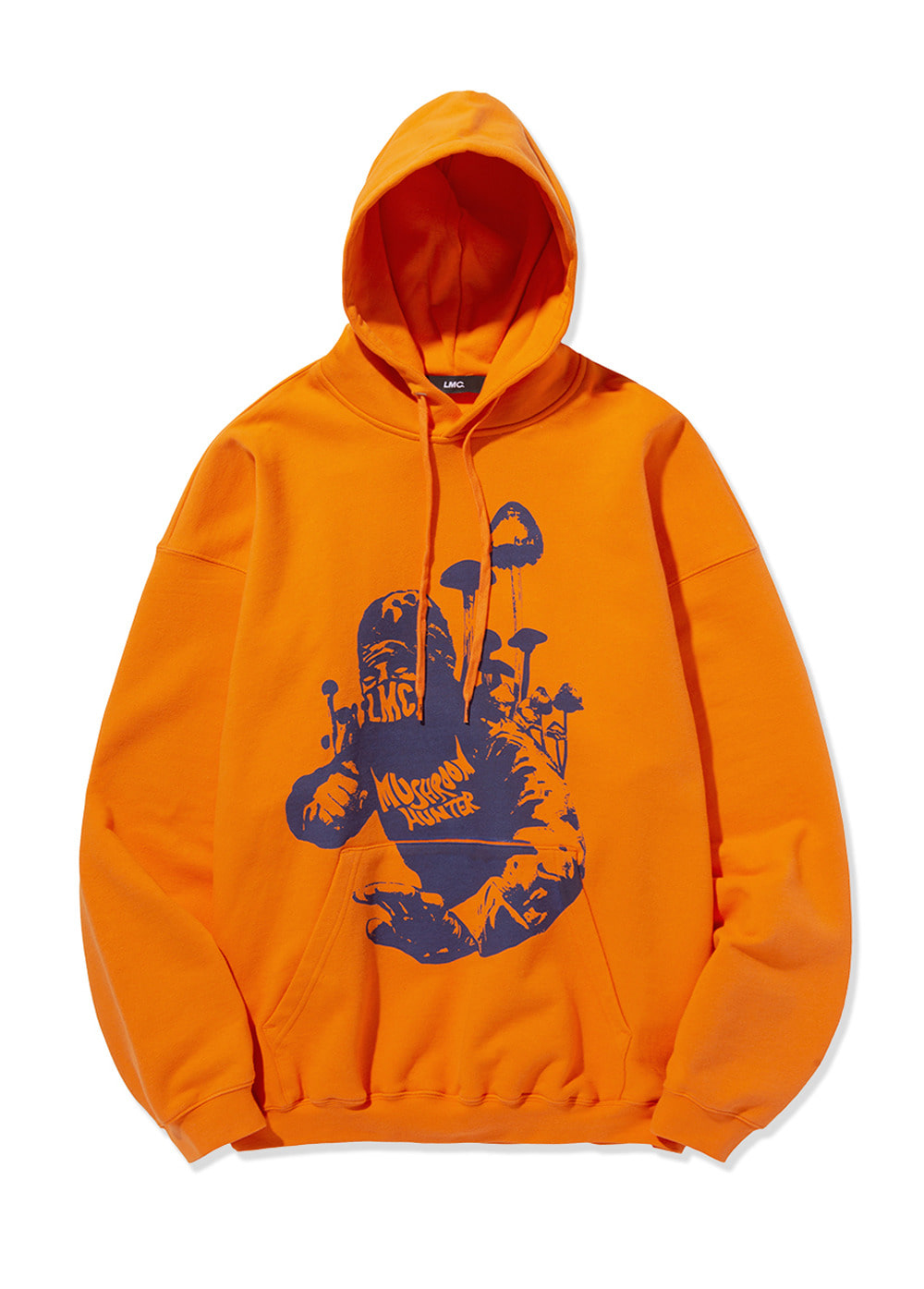LMC HUNTER OVERSIZED HOODIE orange
