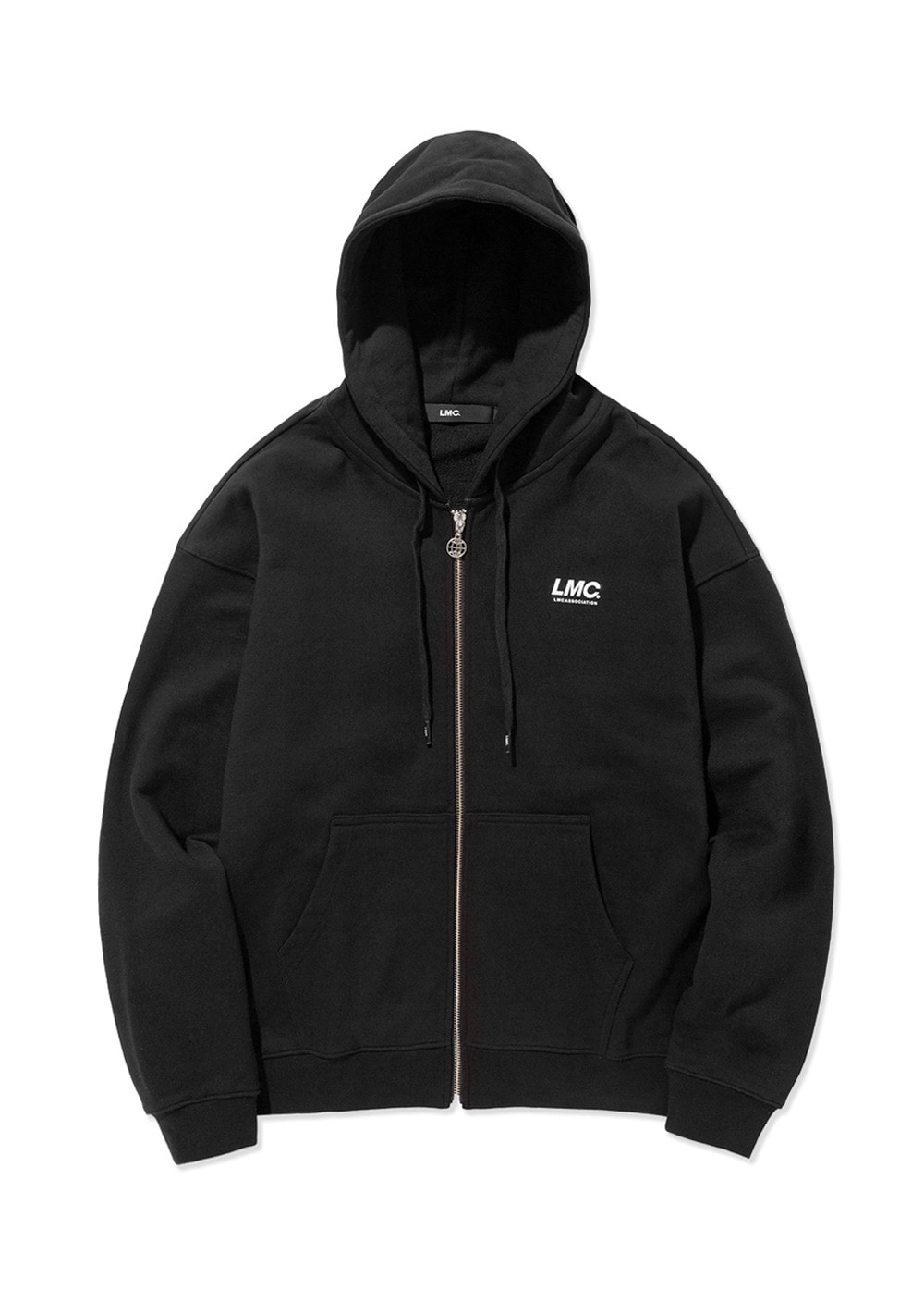 LMC ITALIC ZIP-UP HOODIE black