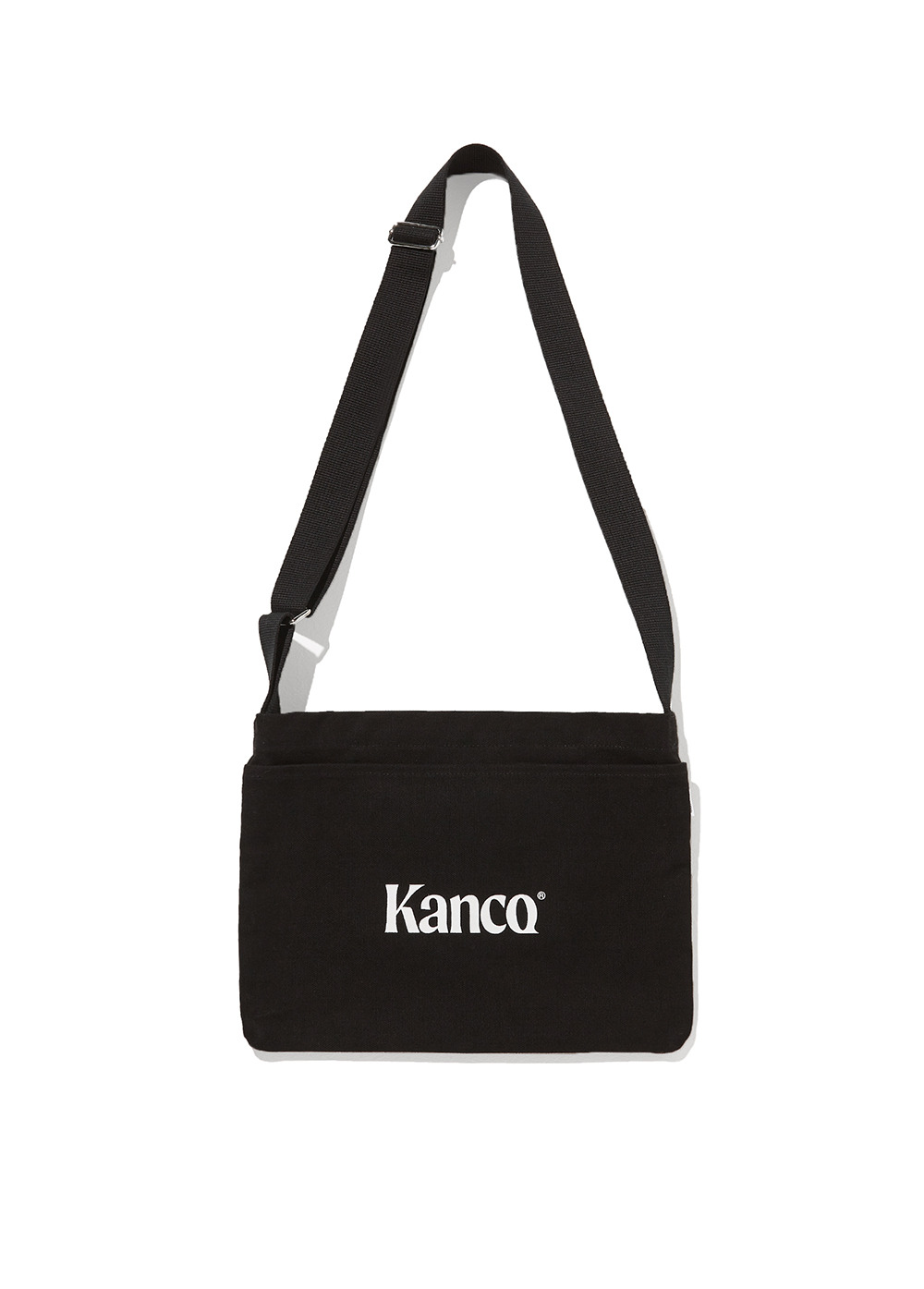 KANCO CANVAS 3WAY CROSS BAG black