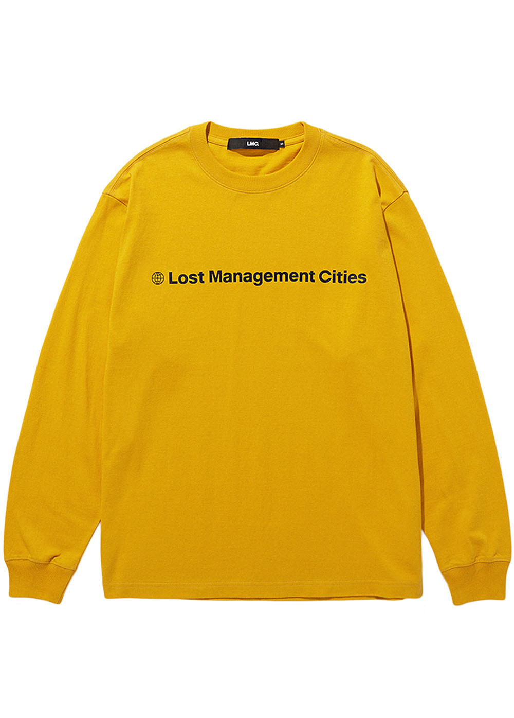 LMC FN OG LONG SLV TEE yellow