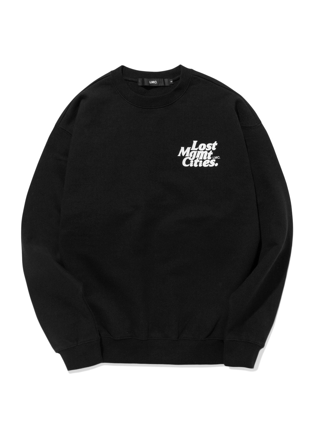 LMC HEART GLOBE SWEATSHIRT black