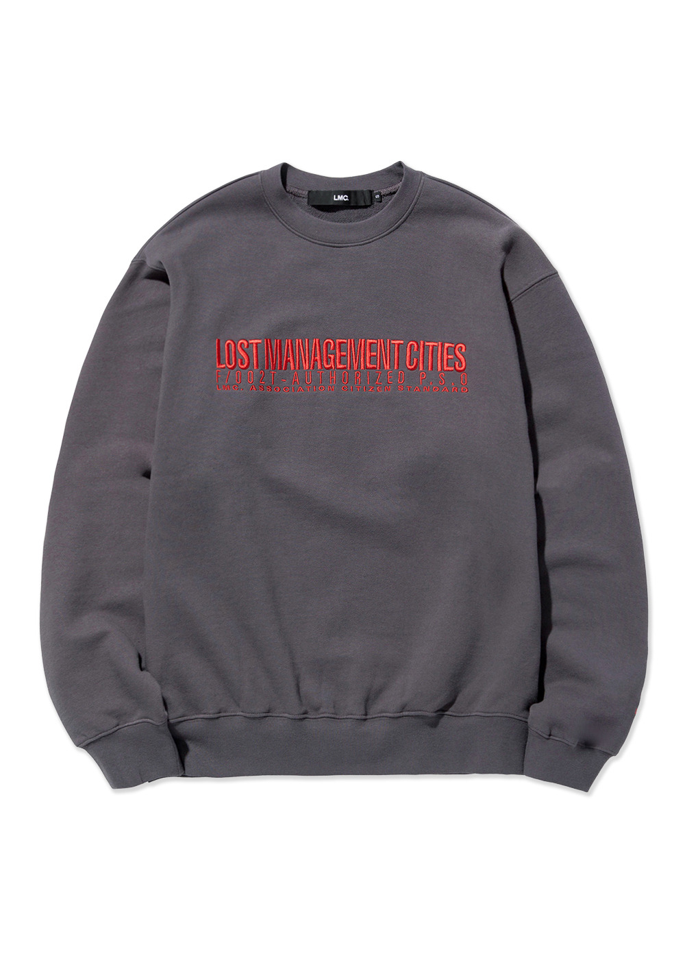 LMC AUTHORIZED LOGO SWEATSHIRT charcoal