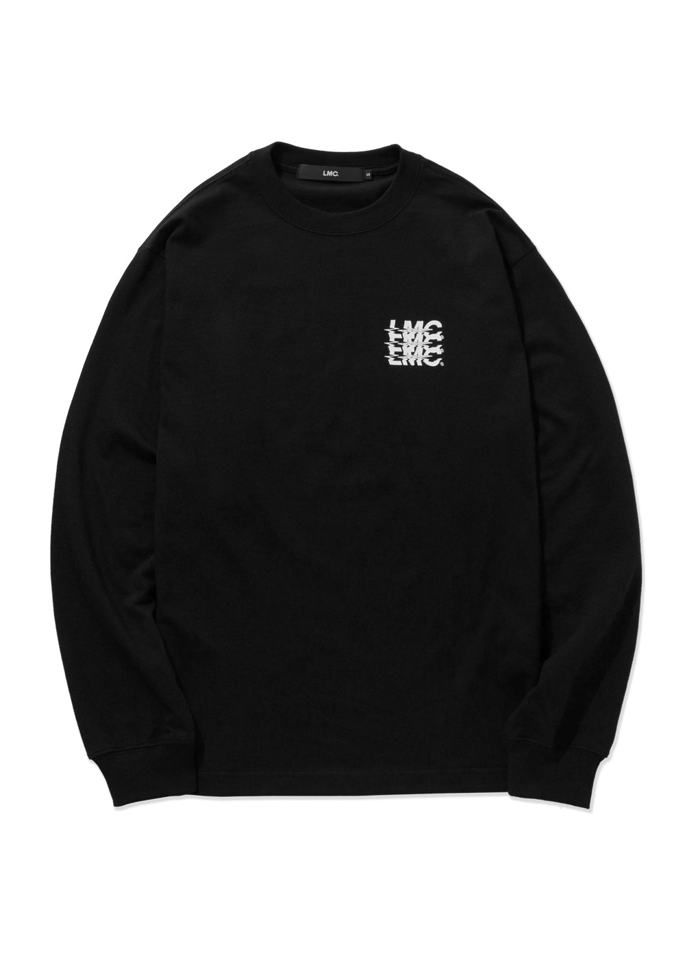 LMC NOISE LONG SLV TEE black