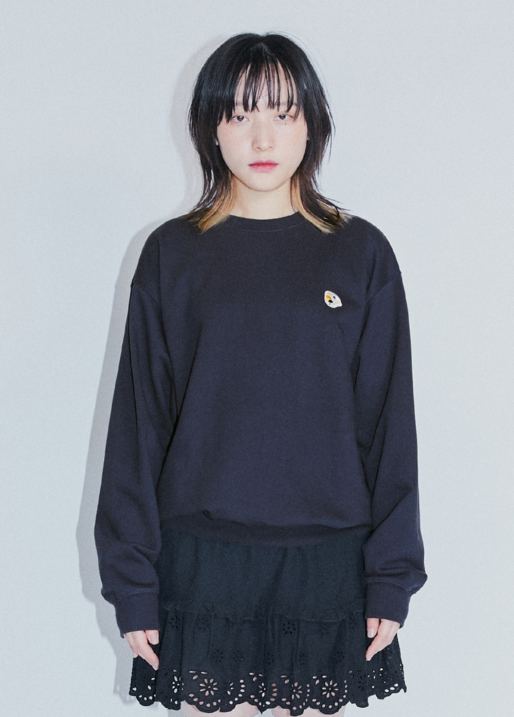 KANCO LOGO SWEATSHIRT navy