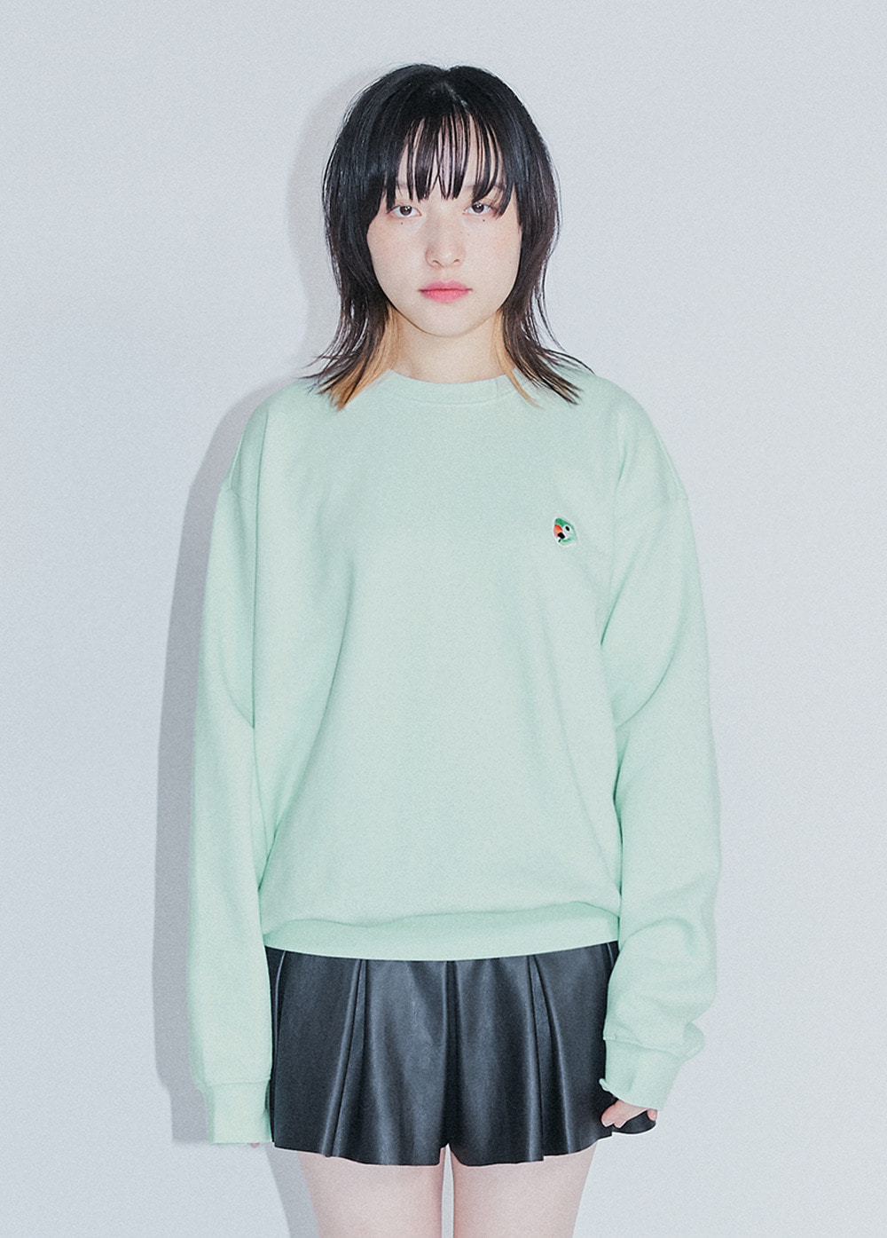 KANCO LOGO SWEATSHIRT mint