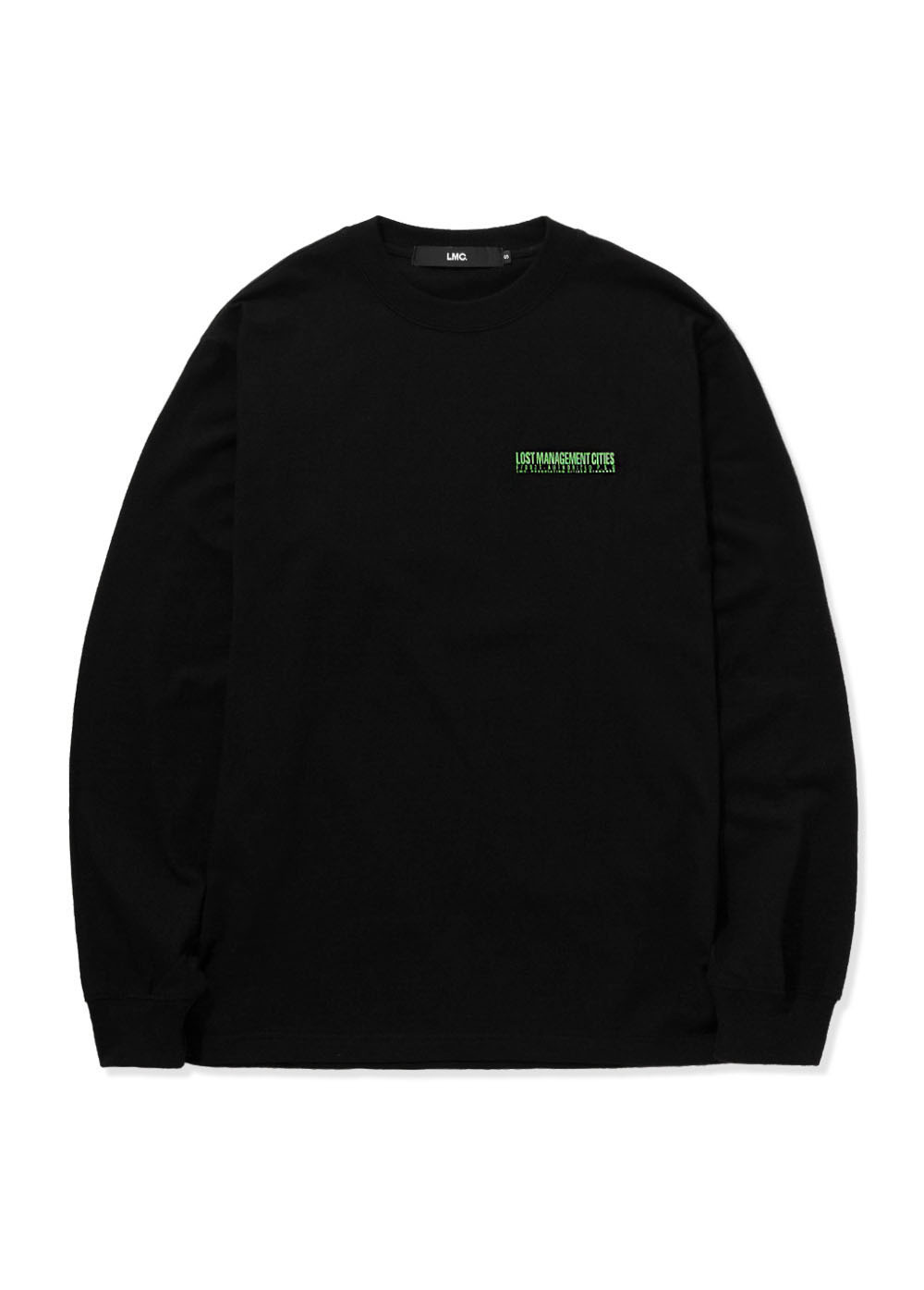 LMC AUTHORIZED LOGO LONG SLV TEE black