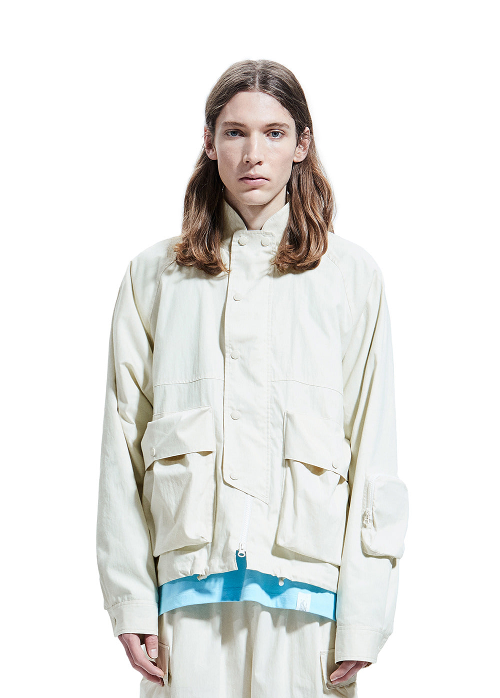 COMFORT MOUNTAIN JACKET ivory