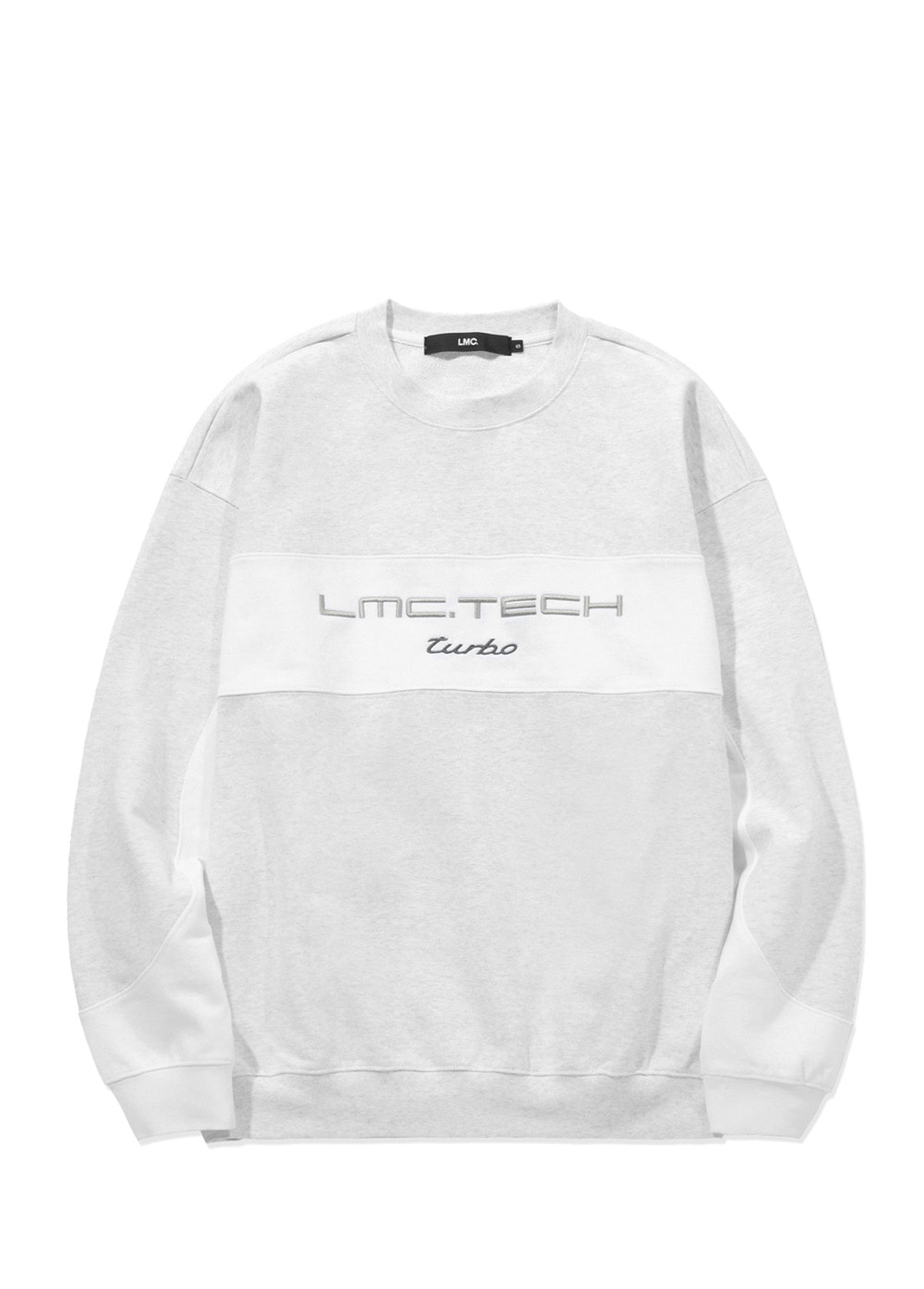 LMC TECH OVERSIZED SWEATSHIRT lt. heather gray