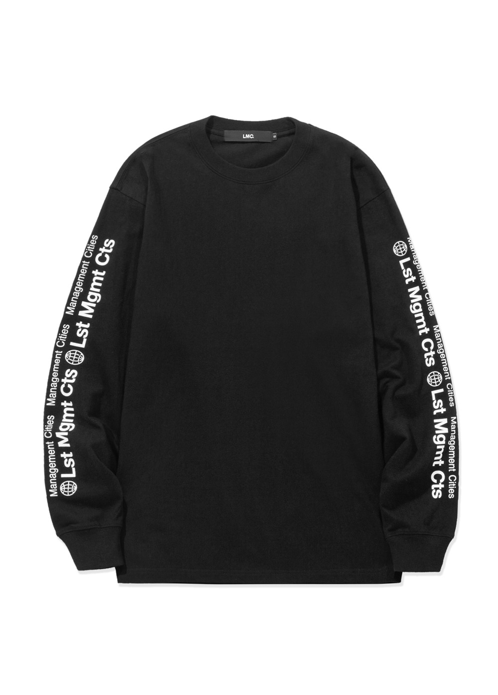 LMC COMBINATION LONG SLV TEE black