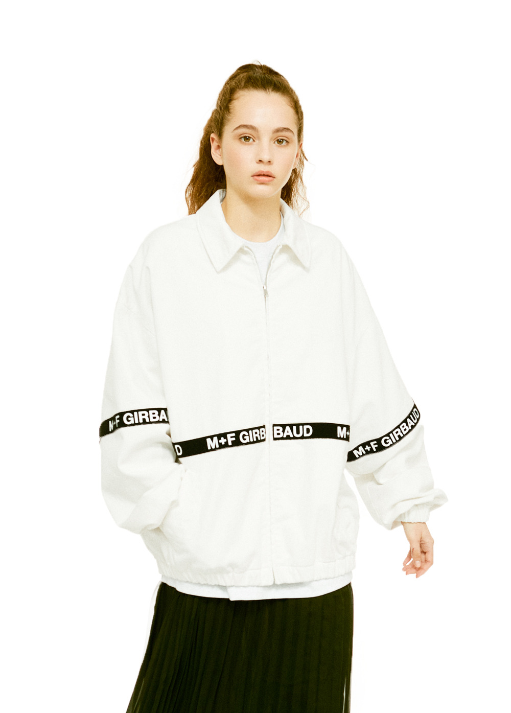 MFG SHUTTLE TAPE JACKET off white