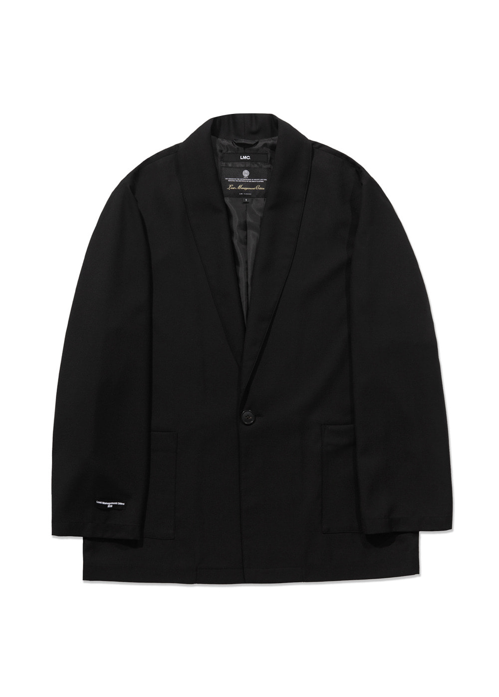 LMC GANG SUIT JACKET black