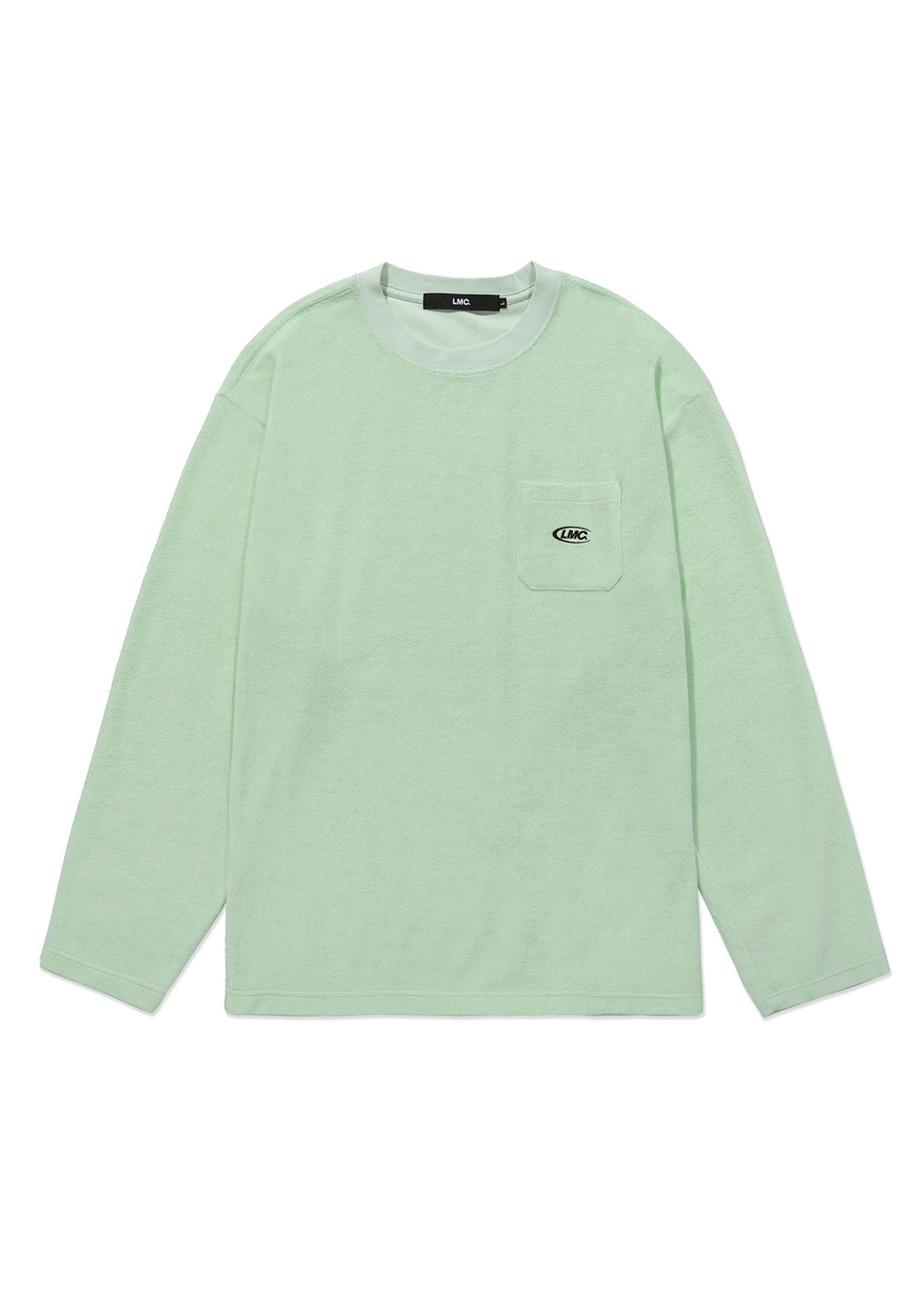 LMC TERRY POCKET LONG SLV TEE mint