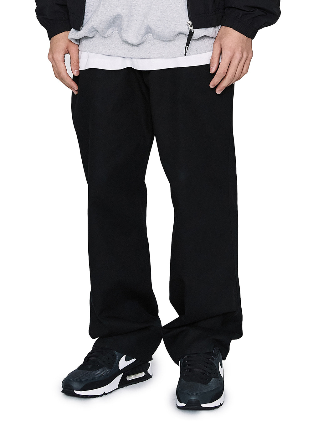 LMC BASIC FN CHINO PANTS black
