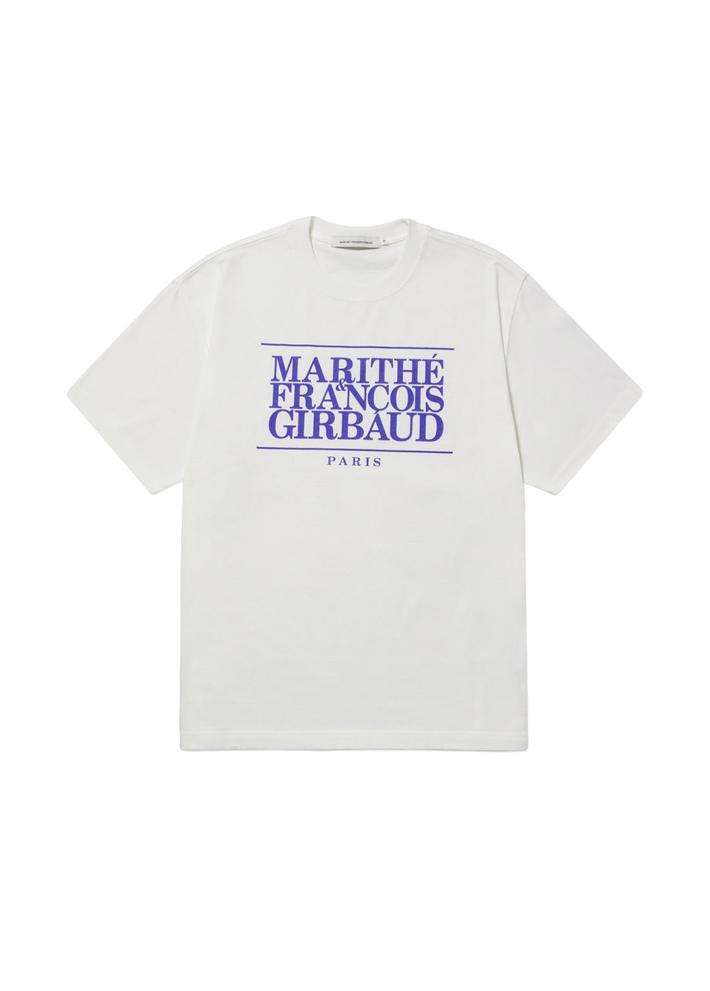 MFG CLASSIC LOGO TEE off white/french blue